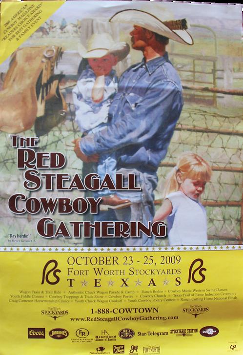 2009 Cowboy Gathering Poster