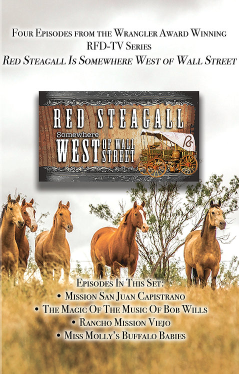 Somewhere West of Wall Street~DVD Set 1