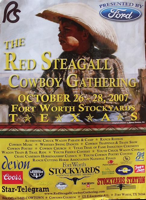 2007 Cowboy Gathering Poster