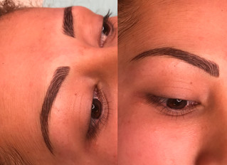 How do I take care of my permanent eyebrow makeup after the procedure?