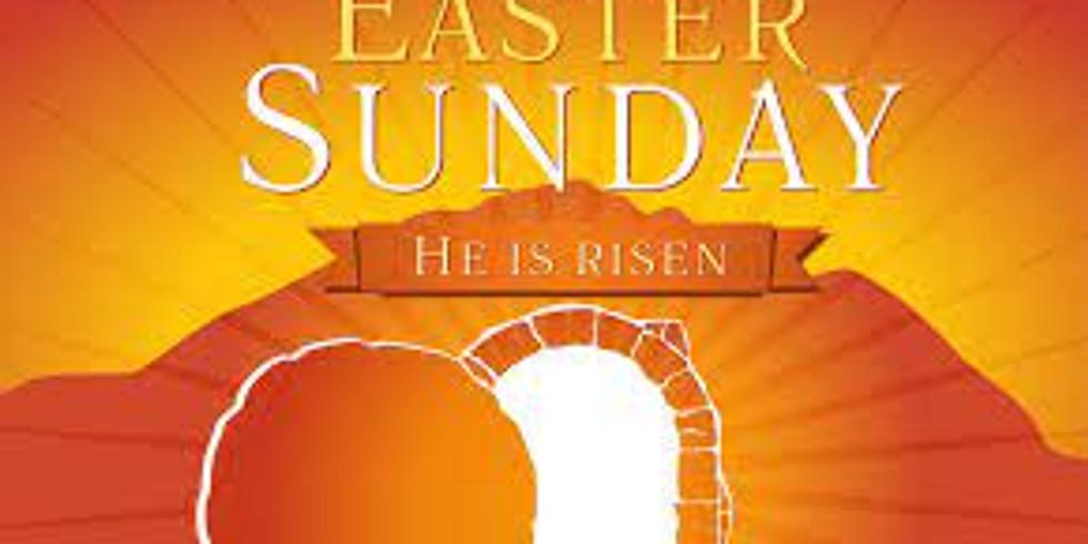 Resurrection Sunday In-Person/Virtual Worship