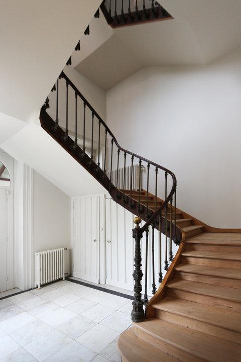 Rénovation d'un hôtel particulier à Lille escaliers