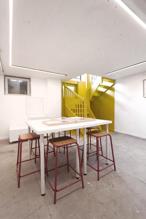 Rénovation galerie d'art Lille
