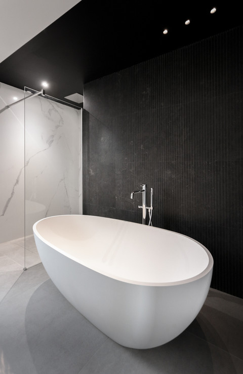 Aménagement d'une salle de bain villa calvi