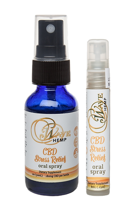 Large CBD Stress Relief Oral Spray