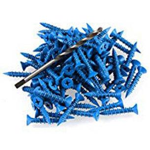 BLUE WALL SCREWS