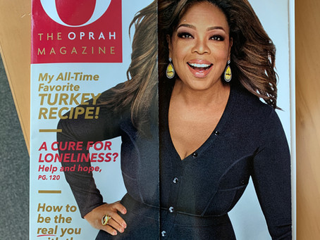 OPRAH magazine, November issue 2019