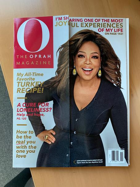 OPRAH magazine, November issue 2019