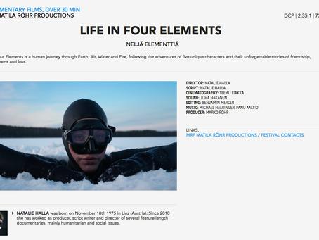 Life in Four Elements - Neljä Elementtiä