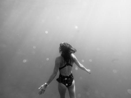Underwater shooting in Croatia