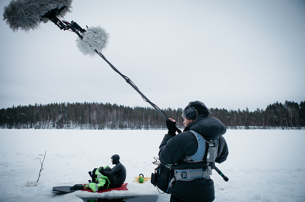 Professional underwater movie production