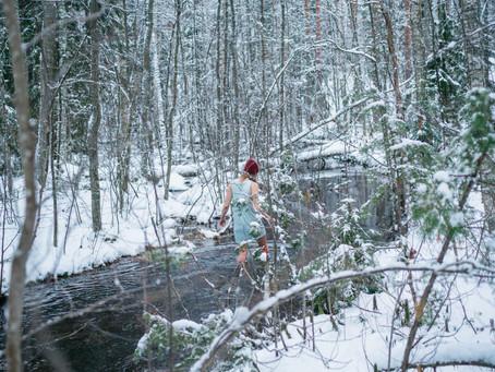 River walk with Johanna
