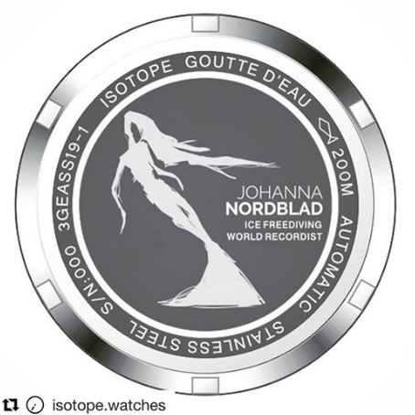 Isotope watches and Johanna Nordblad edition