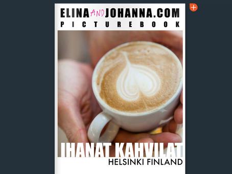 Ihanat Kahvilat Helsinki cafe book