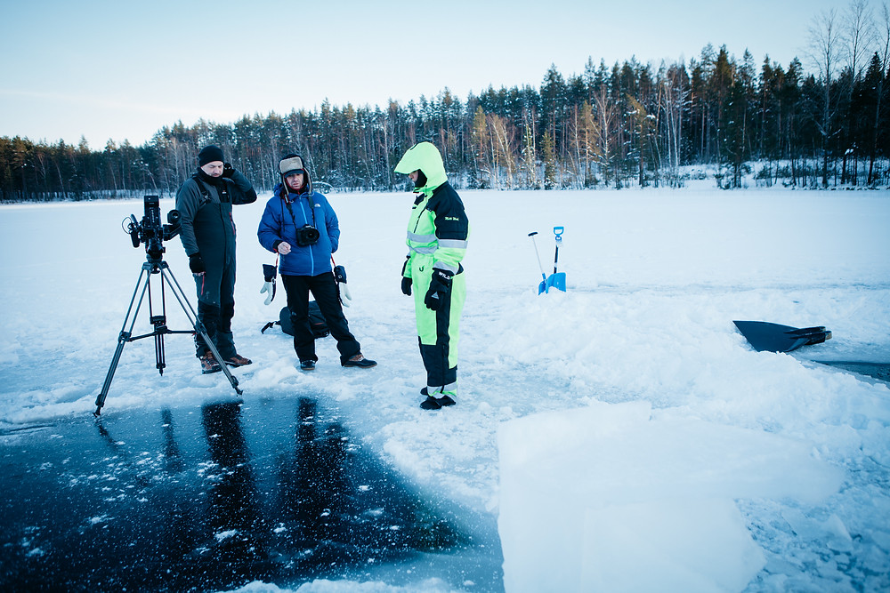 Making of Johanna under the ice