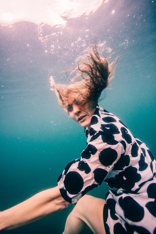 Professional underwater photographer Elina Manninen