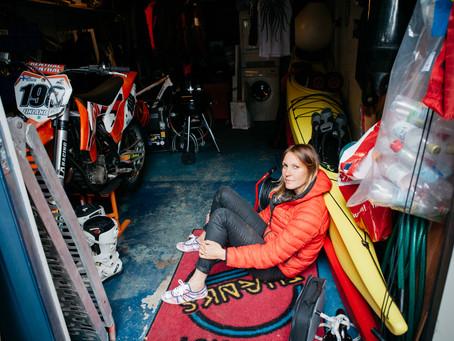 Johanna's garage.