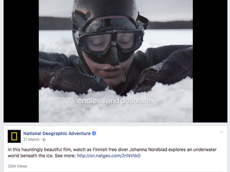 20 MILLION views on National Geographic Adventure