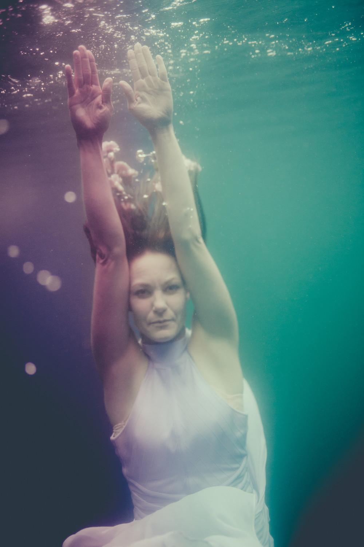 Underwater photography of Johanna Nordblad. Pic Elina Manninen