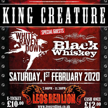 King Creature & Black Whisky!!