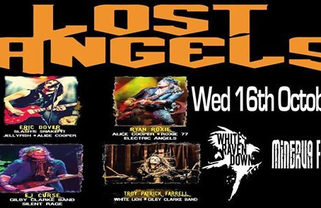 "Ex Slash's Snakepit/Alice Cooper Band/Gilby Clarke Band form ""LOST ANGELS"""