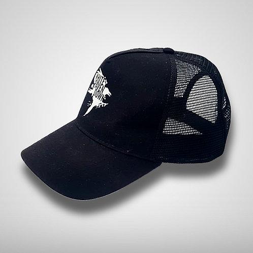 Trucker Cap - Black - WRD Logo