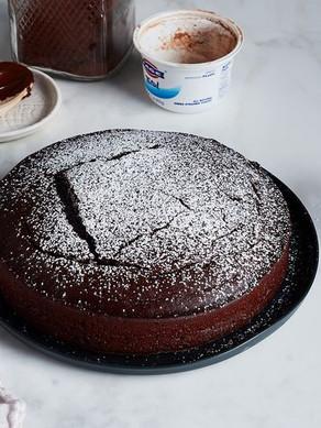 No-Measure Chocolate Cake
