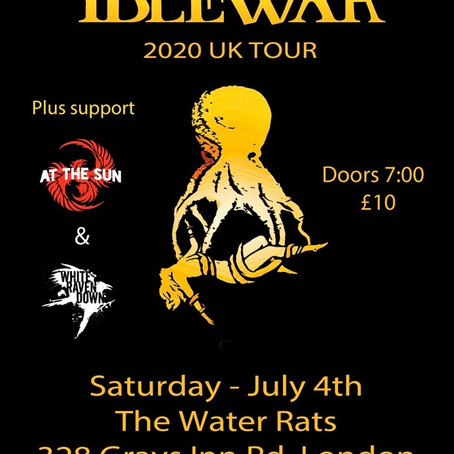 US Band Idlewar hit London and we will be there with At The Sun