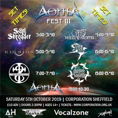 Aonia Fest III