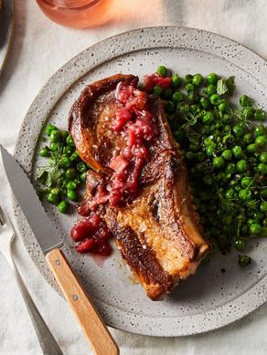 Honey-Butter Pork Chops