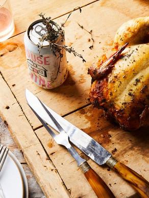 Rosé Can Chicken