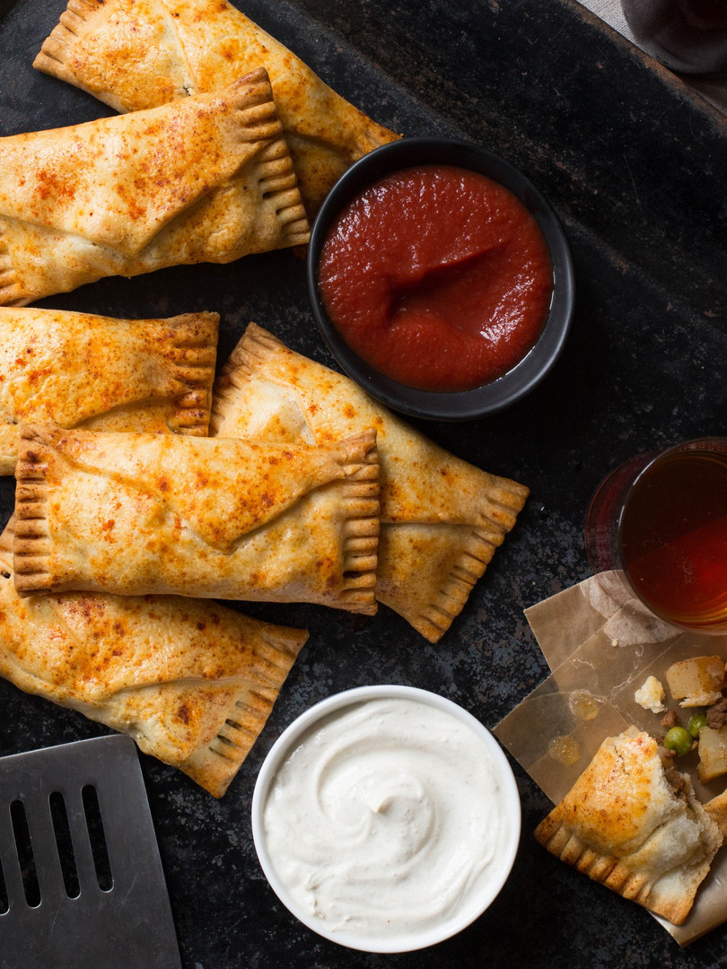 Spicy Beef + Potato Hand Pies
