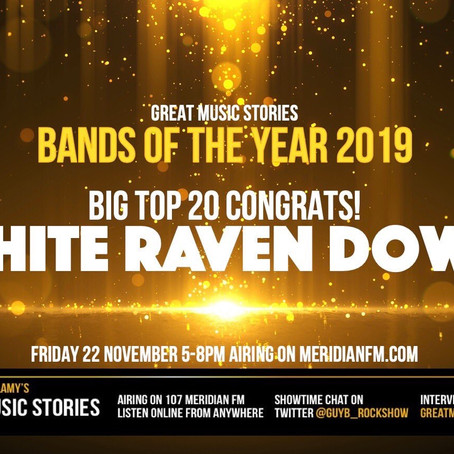 #12 Great Music Stories' Band of the Year!!!