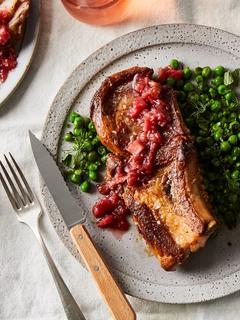 This 30-Minute Pork Chop Dinner Is *Peak* Spring on a Plate