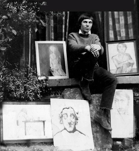 William McLellan aged 18 in 1968