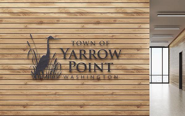 Town of Yarrow Point Logo Design