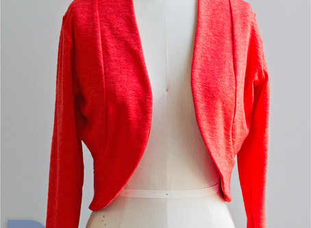 &1 More Stitch: Bianca Knit Bolero