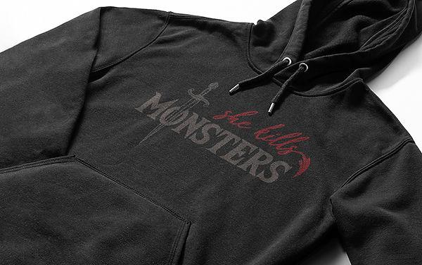 She Kills Monsters Logo Design