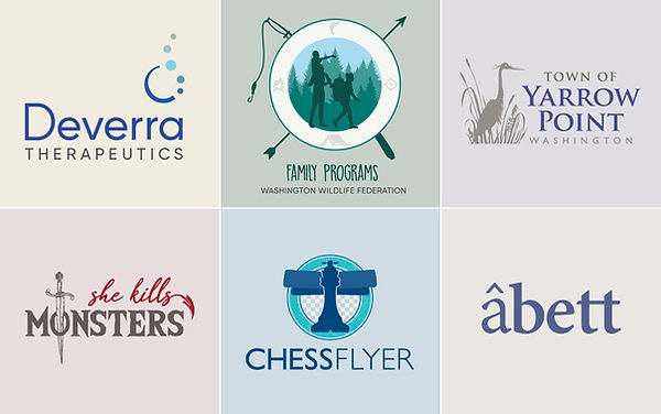Logo Designs by And One More