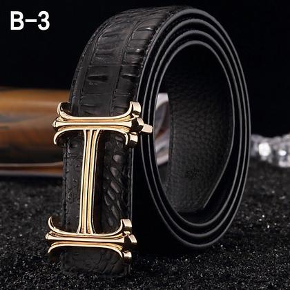 Gentleman's H Belts
