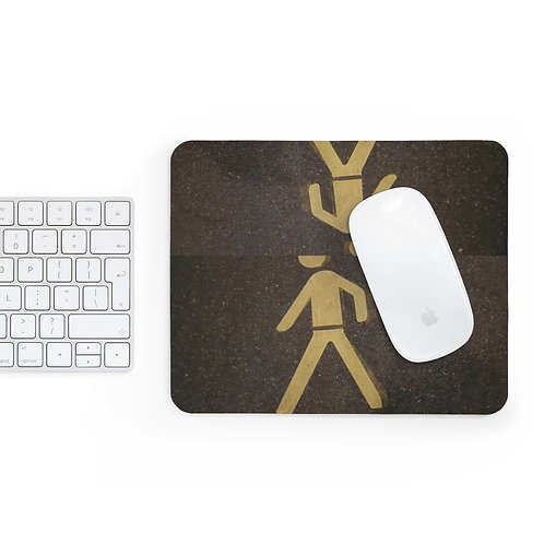 Mr Crosswalk Mousepad