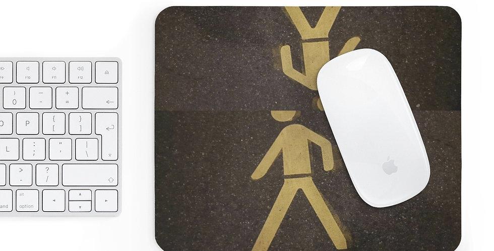 Mr Crosswalk Mousepad
