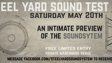Steel Yard Sound Test