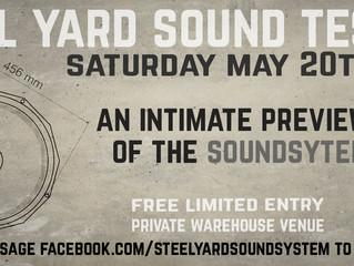Steel Yard Sound Test