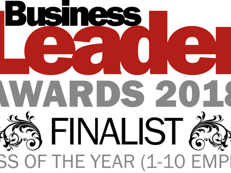 We've made the shortlist for another award!