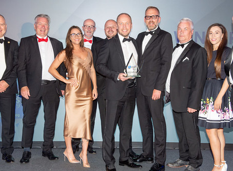 Aquarian Cladding acclaimed 'Best SME' at Bristol Live Business Awards