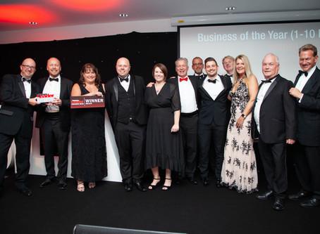 Aquarian Cladding wins prestigious business award for SECOND year running
