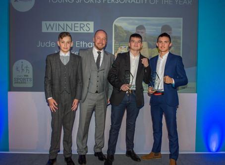 Aquarian Cladding MD backs young boxing duo at Bristol Live Sports Awards