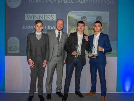 Aquarian Cladding MD backs young boxing duo at Bristol Live Sports Awards
