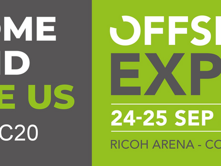 We will be exhibiting at Offsite Expo 2019